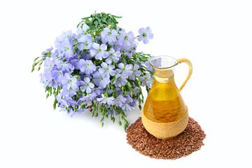 Чому олія льону корисна для жіночого організму?