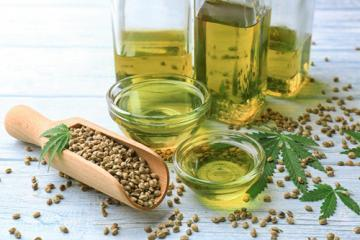 Олія з насіння конопель: корисна рівновага