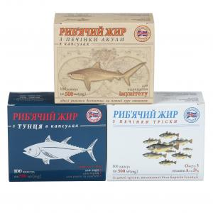 Комплекс риб'ячого жиру для дорослих