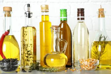 Олії для заправки салатів і рецепти з ними