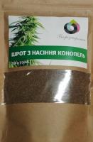 Шрот з насіння конопель