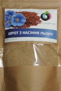 Шрот з насіння льону