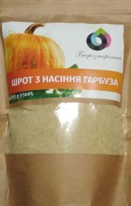 Шрот з насіння гарбуза